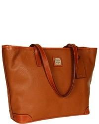 rotbraune Shopper Tasche