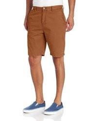 rotbraune Shorts