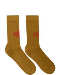 rotbraune Socken