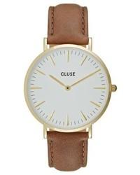 rotbraune Uhr von Cluse