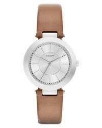 rotbraune Uhr von DKNY