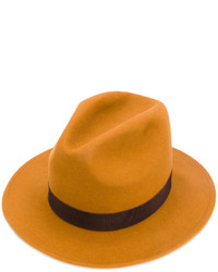 rotbrauner Hut von Dsquared2