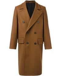 rotbrauner Mantel von AMI Alexandre Mattiussi