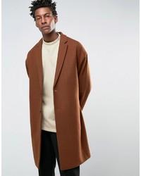 rotbrauner Mantel von Asos