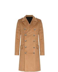rotbrauner Mantel von Balmain