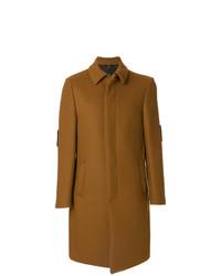rotbrauner Mantel von Fendi