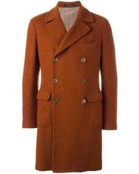 rotbrauner Mantel von Tagliatore