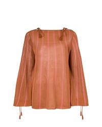 rotbrauner Oversize Pullover von See by Chloe