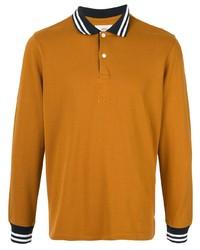 rotbrauner Polo Pullover von Kent & Curwen