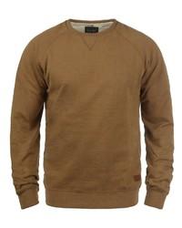 rotbrauner Pullover mit einem Rundhalsausschnitt von BLEND