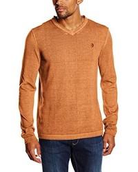 rotbrauner Pullover von ARQUEONAUTAS