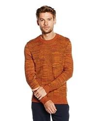 rotbrauner Pullover von Boss Orange