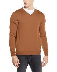 rotbrauner Pullover von Roberto Verino