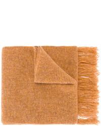 rotbrauner Wollschal von AMI Alexandre Mattiussi