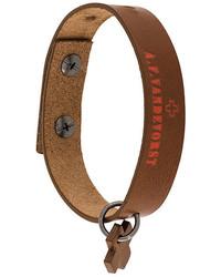 rotbraunes Armband von A.F.Vandevorst