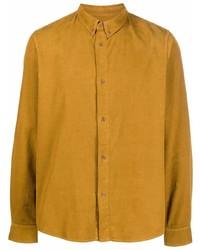 rotbraunes Langarmhemd von A.P.C.
