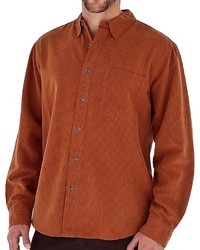 Rotbraunes Langarmhemd von Royal Robbins