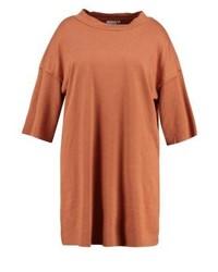 Rotbraunes Schwingendes Kleid von Junarose