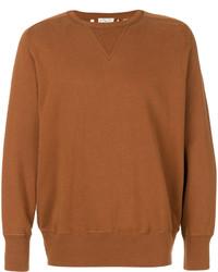 rotbraunes Sweatshirt