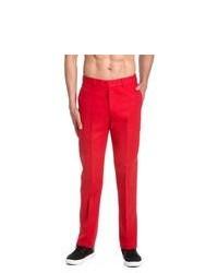 rote Anzughose