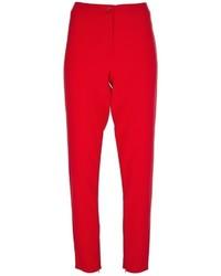 rote Anzughose von Max Mara