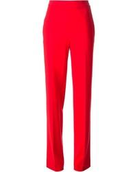 rote Anzughose von Moschino