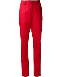 rote Anzughose von Tomas Maier