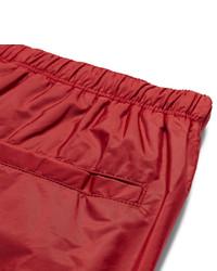rote Badeshorts von Prada
