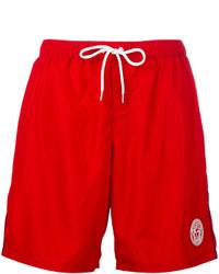 rote Badeshorts von Versace
