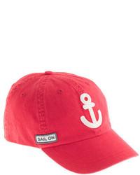 rote Baseballkappe