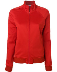 rote Baumwolle Bomberjacke von Givenchy