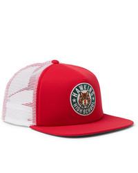 rote bedruckte Baseballkappe von Nike
