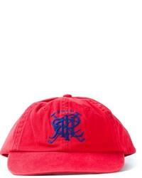 rote bedruckte Baseballkappe von Polo Ralph Lauren
