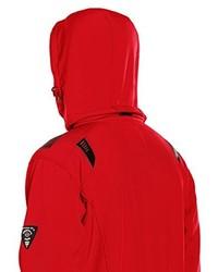 rote bedruckte Jacke von Geographical Norway