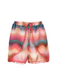 rote bedruckte Shorts von BRIGITTE