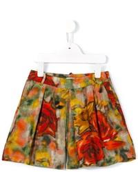 rote bedruckte Shorts von Morley