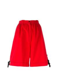 rote Bermuda-Shorts von Thierry Mugler Vintage