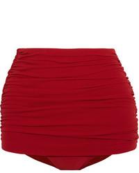 rote Bikinihose von Norma Kamali