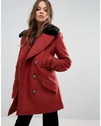 rote Cabanjacke von Free People