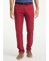 rote Chinohose von Pioneer Authentic Jeans