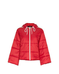 rote Daunenjacke von Gucci