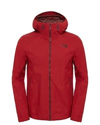 rote Daunenjacke von The North Face