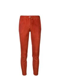 rote enge Hose aus Leder von Arma