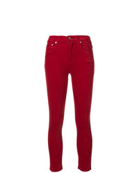 Modische rote Samthose für Damen für Winter 2019 kaufen   Damenmode 12e02f53a3