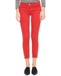 Modische rote enge Jeans von J Brand für Winter 2019 kaufen   Damenmode a01b17a046