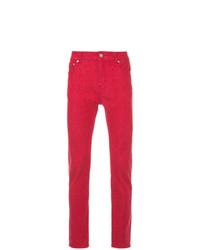 rote enge Jeans von Loveless