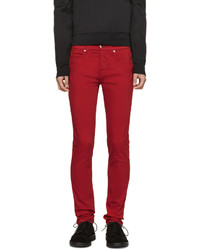 rote enge Jeans von McQ
