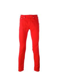 rote enge Jeans von Neil Barrett