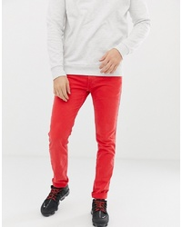 rote enge Jeans von Replay