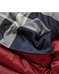 rote gesteppte ärmellose Jacke von Burberry